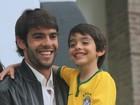 Torcida mirim: filhos de famosos também vestem a camisa do Brasil