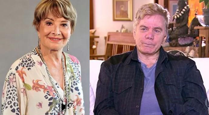 Glória Menezes e Reginaldo Faria são Maurice e Stelinha, os pais de Arthur (Foto: Gshow)