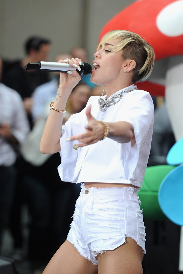 Miley Cyrus (Foto:  Jamie McCarthy/Getty Images/AFP)