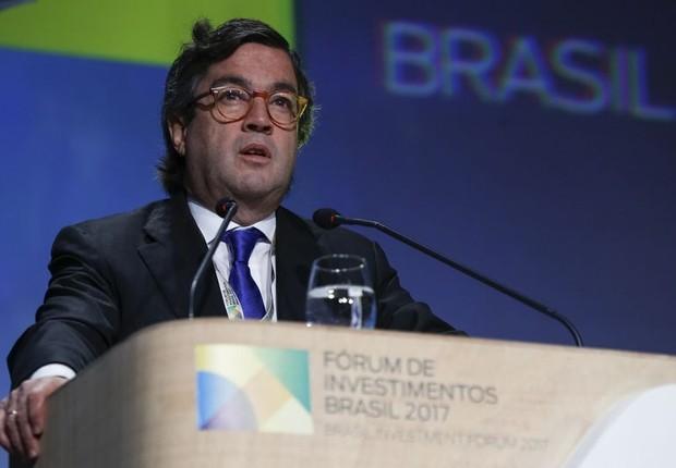 O presidente do Banco Interamericano de Desenvolvimento (BID), o colombiano Luís Alberto Moreno (Foto: Marcos Corrêa/PR)