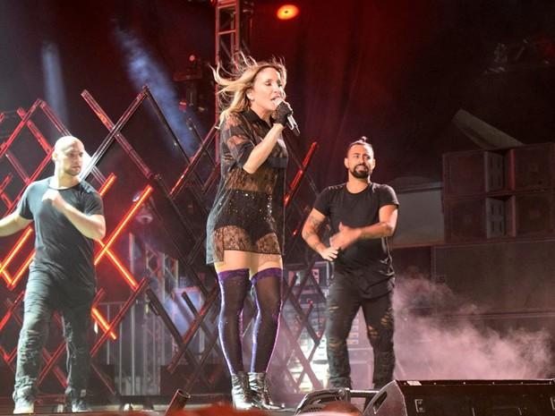 Claudia Leitte em show em Belo Horizonte, em Minas Gerais (Foto: Pablo Amora/ Divulgação)
