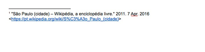 Adicione notas de rodapé no Google Docs (Foto: Reprodução/André Sugai)