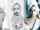 Tá calor, tá calor! Depois de Justin Bieber, relembre os famosos que posaram só de toalha para ensaio