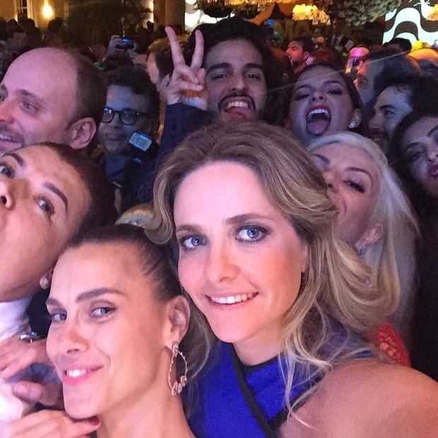 Famosos na festa de casamento de Preta Gil e Rodrigo Godoy em Santa Teresa, no Centro do Rio (Foto: Instagram/ Reprodução)