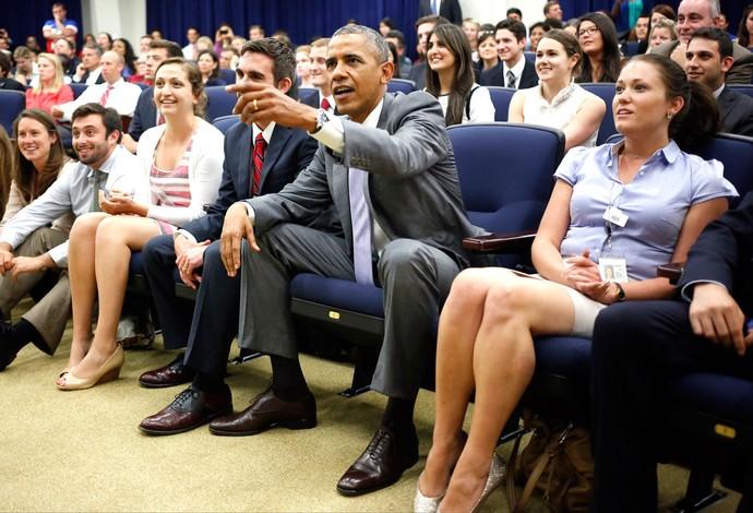 Obama Bélgica e Estados Unidos Casa Branca (Foto: Agência AP)