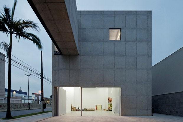 Nova Galeria Leme, São Paulo, 2011/2012, METRO Arquitetos (Foto: Leonardo Finotti)