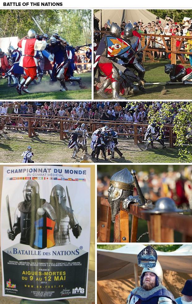 Battle of the Nations mosaico (Foto: Reprodução/Facebook )