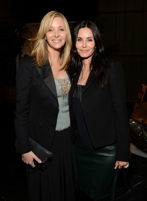 Lisa Kudrow e Courteney Cox  (Foto: AFP / Agência)