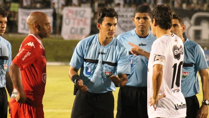 Pablo Ramon Gonçalves Pinheiro árbitro potiguar (Foto: Canindé Pereira)