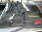 DIG de Piracicaba acha fuzil, colete e projéteis em carro roubado há 1 ano