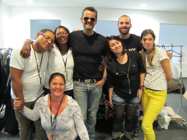 Pazetto e sua equipe (Foto: Christina Fuscaldo)
