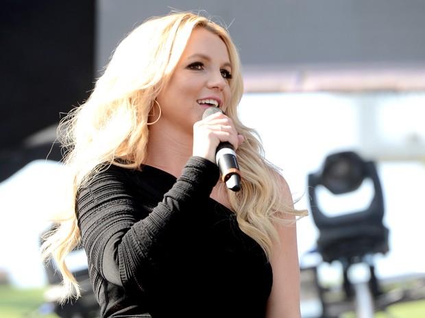 Britney Spears em evento na Califórnia, nos Estados Unidos (Foto: Kevin Winter/ Getty Images/ AFP)