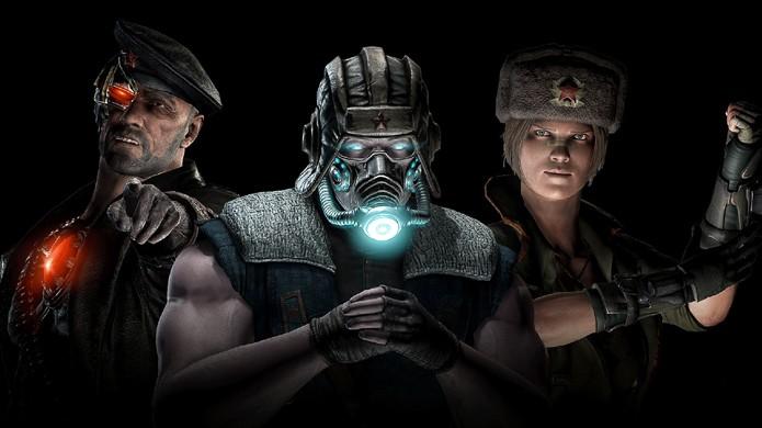 Sonya, Kano e Sub-Zero ganham roupas russas no DLC Kold War de Mortal Kombat X (Foto: Divulgação)