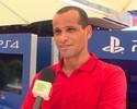 """Rivaldo vê MSN como """"maravilha"""", mas diz que Espanhol era mais difícil"""