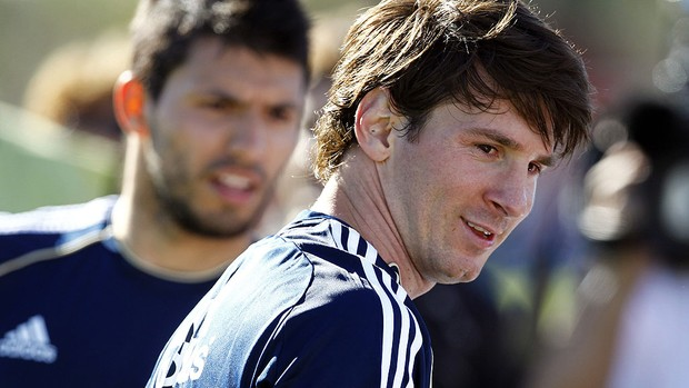 Messi, Aguero, Argentina (Foto: EFE)