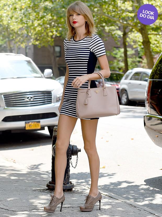 Taylor Swift - Look do dia (Foto: AKM-GSI)