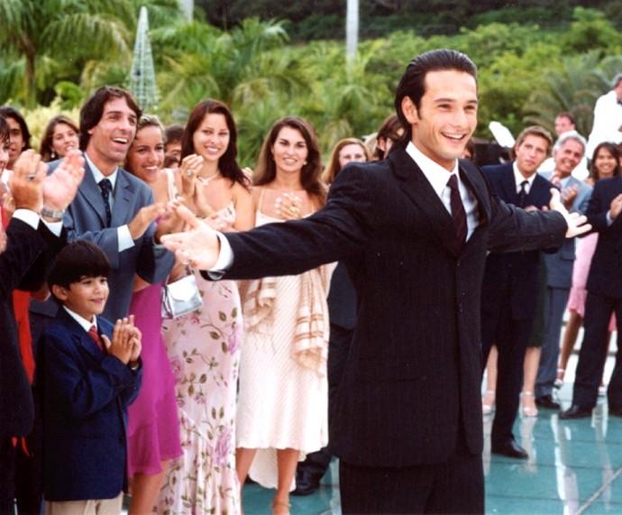 Rodrigo como Diogo, de 'Mulheres Apaixonadas' (Foto: CEDOC/TV Globo)