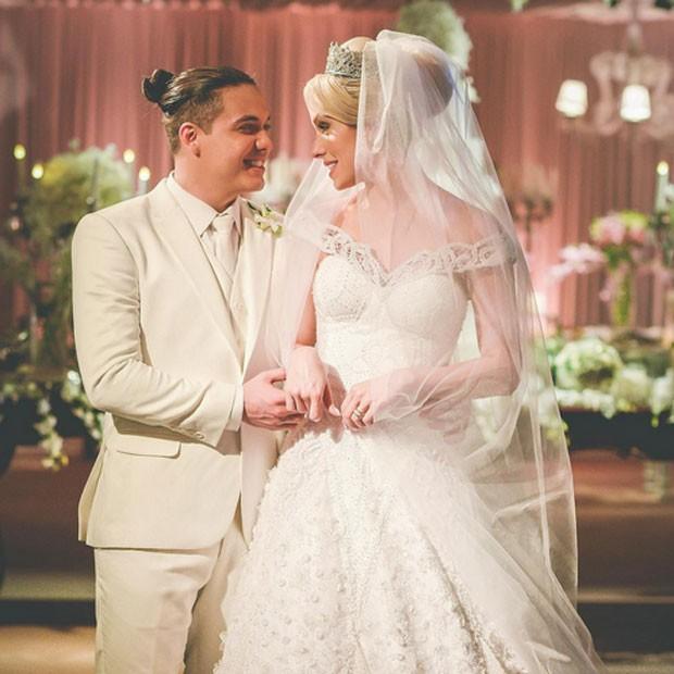 Wesley Safadão e Thyane Dantas se casam em cerimônia íntima no Ceará (Foto: Instagram/ Reprodução)