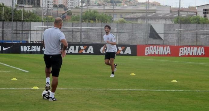 Alexandre Pato Treino Corinthians (Foto: Diego Ribeiro)