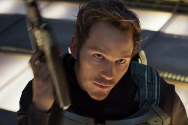 Chris Pratt em 'Guadiões da Galáxia Vol. 2'  (Foto: Reprodução)