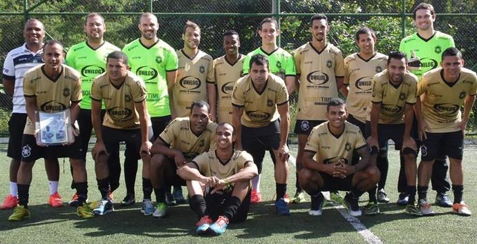 Equipe do Rio Branco representa o Espírito Santo na Superliga FUT 7 (Foto: Vinícius Muline/Rio Branco Projecta)