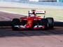 Sebastian Vettel testa pneus mais largos da Pirelli para 2017, em Fiorano