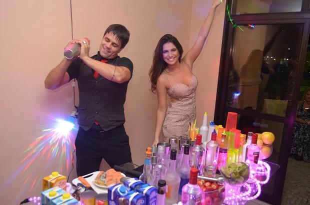 Kamilla ganha festa de fãs para comemorar aniversário (Foto: Kadú Sandeiro/MF Models Assessoria)