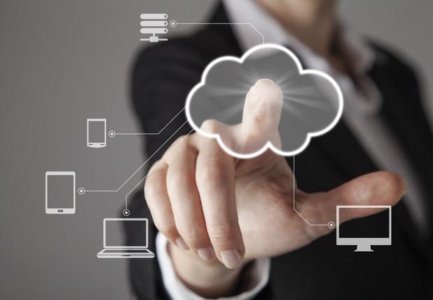 Computação em nuvem (Foto: Thinkstock)