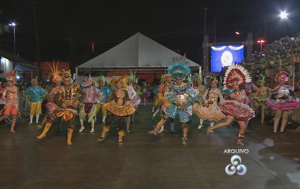 Quadrilhas ensaiam para as apresentações em junho (Foto: Amapá TV)