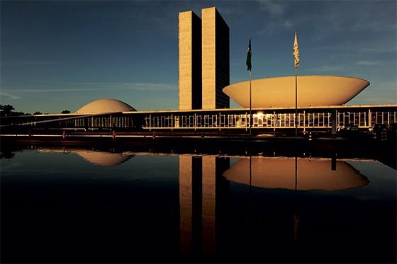 O Congresso Nacional,  em Brasília (Foto: Shaun Botterill/FIFA via Getty Images)
