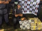 Motorista é preso com tabletes de pasta base de cocaína em Bálsamo