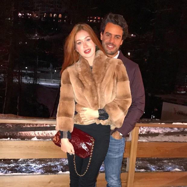 Marina Ruy Barbosa e o noivo, Xandinho Negrão (Foto: Reprodução/Instagram)