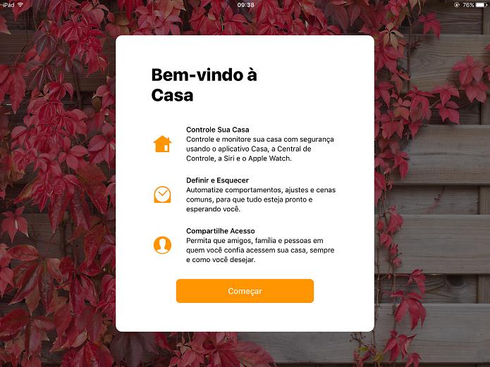 Novo aplicativo Casa torna mais fácil gerenciar seus objetos inteligentes (Foto: Felipe Alencar/TechTudo)  (Foto: Novo aplicativo Casa torna mais fácil gerenciar seus objetos inteligentes (Foto: Felipe Alencar/TechTudo) )