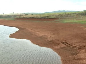Represa Tamburi  em Araras (Foto: Ely Venâncio/ EPTV)