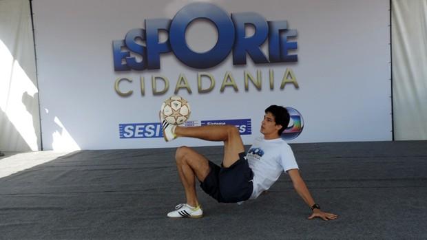 Nona edição do Esporte Cidadania realiza atividades em 43 cidades (Divulgação/Ludmila Rabello)