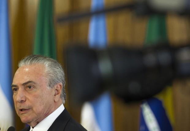 O presidente Michel Temer (Foto: Joédson Alves/EFE)