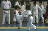 Crianças encaram primeiras competições de karatê (reprodução rede amazônica rr)