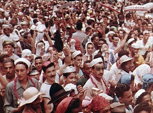 Os documentaristas de fora do país se interessaram, pelo carnaval carioca ao longo das décadas (Foto: Reprodução)