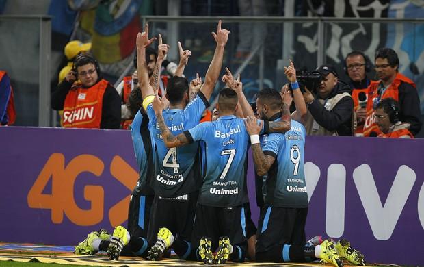 Grêmio x Cruzeiro Brasileirão Arena do Grêmio Arena Grêmio gol comemoração