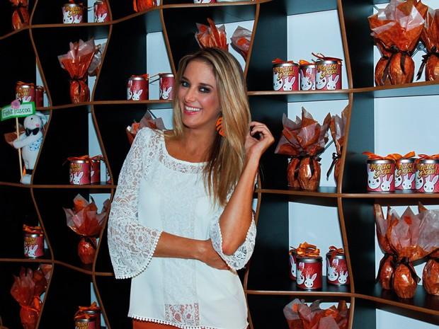 Ticiane Pinheiro em evento em São Paulo (Foto: Manuela Scarpa/ Foto Rio News)