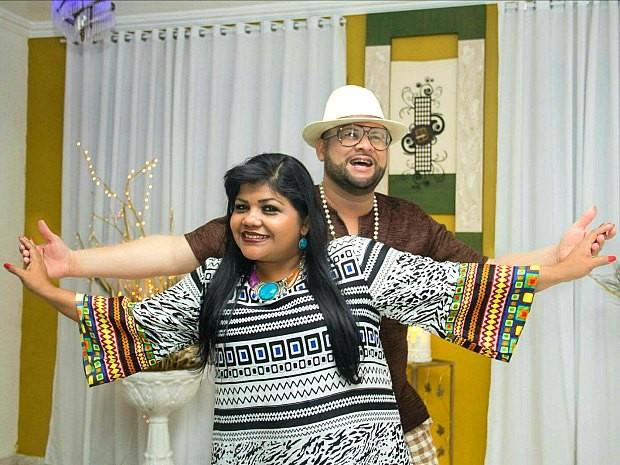 Cantores Márcia Siqueira e James Rios participam do festival (Foto: Divulgação)