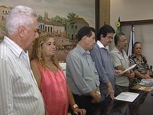Câmara Vereadores Legislativo Uberaba 2014 (Foto: Reprodução/ TV Integração)