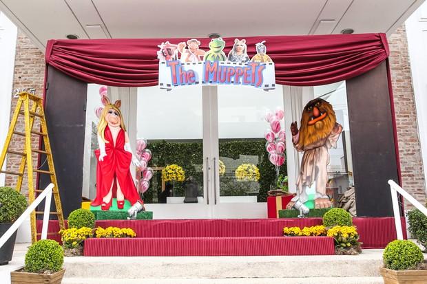 Decoração da casa de festas do aniversário das filhas de Rodrigo Faro (Foto: Marcos Ribas e Manuela Scarpa / Foto Rio News)
