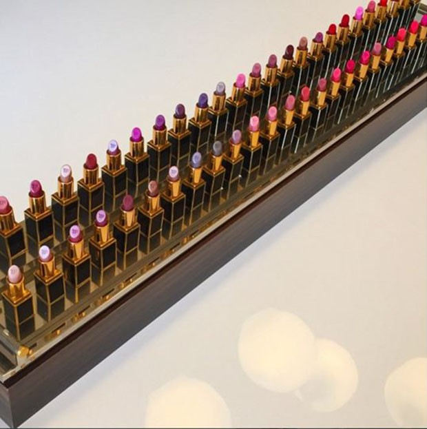 Nova edição da coleção Lips & Boys, de Tom Ford (Foto: Reprodução/Instagram)
