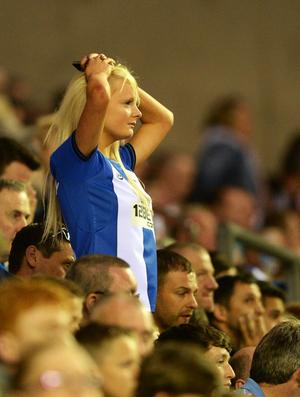 Torcedora Wigan (Foto: Getty Images)