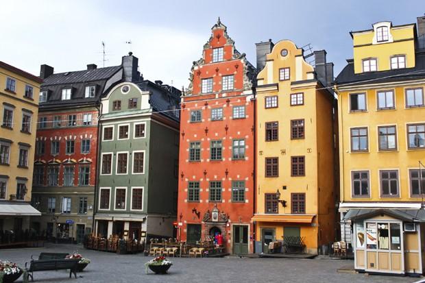 Gamla Stan, em Estocolmo, na Suécia (Foto: Thinkstock)