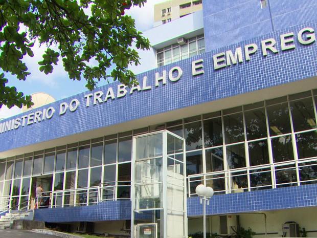 Superintendência Regional do Trabalho e Emprego de Pernambuco (SRTE-PE) fica na Avenida Agamenon Magalhães, 2000, no bairro do Espinheiro (Foto: Reprodução/TV Globo)