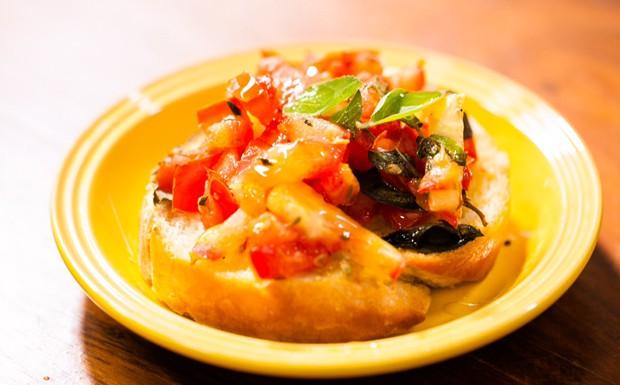Bruschetta de tomate (Foto: Divulgao)