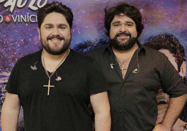 César Menotti e Fabiano (Foto: Ricardo Cardoso/Ed. Globo)