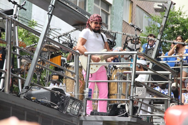 Chiclete com Banana no carnaval de Salvador (Foto: Wallace<br />Barbosa /AgNews)